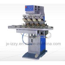 4 печатающая машина для цветной печати с вращающейся пластиной