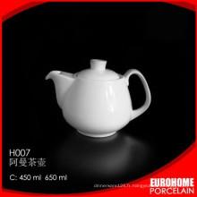 la valeur de stock d'usine Chaozhou Chine gros pot de thé design américain