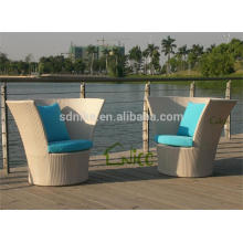 SL-(31) wicker rattan outdoor furniture high back sofa chair