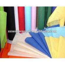 Tecido não tecido colorido de polietileno