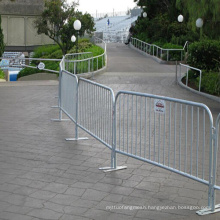 Galvanized Crowd Control Barrier for Seperation