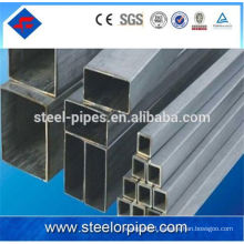 Thin wall gi square steel tube building materials