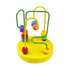 2016 New Arrival Kids Wooden Baby Mini Beads Maze Toy