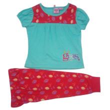 Лето дети девочки костюм для детей одежда