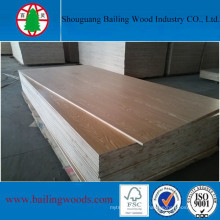 16mm Pine Core Commercial Blockboard for Decoration