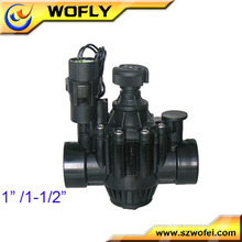 1inch 2 inch 3 inch 12v/24v/220v plastic solenoid valve for water dispenser and irrigation system