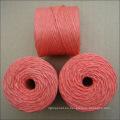 Empaquetadora rosada plástica de la empacadora de los pp para la agricultura