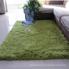 the price of polyester silk shaggy carpet tile