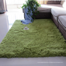 цена на полиэстер шелк лохматый ковровая плитка