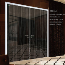External Double Door Aluminium Frame Interior Door
