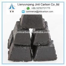 pasta de electrodo de carbono ECA briquetas base cilindros para ferrocromo y ferrosilicio EAF