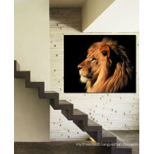 2016 Hot Sale Animal Lion Canvas Fine Art Interior Decoration Wall Art