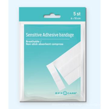 Yeso de vendaje adhesivo sensible en bolsa de polietileno