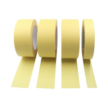 Cílios magnéticos de uso geral com borda afiada fita adesiva de papel crepom amarelo para arte de parede