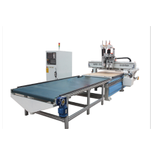 Máquina de carpintería CNC de carga y descarga automática.