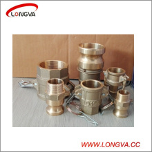 Brass Camlock Quick Coupling Type a, B, C, D, E, F, DC, Dp