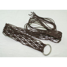 Fashion Hand made garment waxed cord braided belts-KL0037