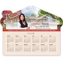 Placa magnética anual do calendário do refrigerador feito sob encomenda