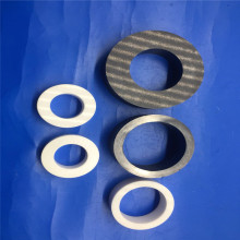 Heat Resistant Industrial Zirconia Ceramic Bushing / Rings