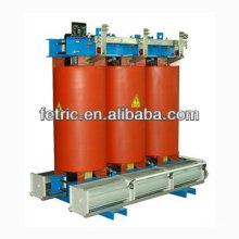 Three phase dry type power distribution transformer