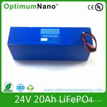 24V 20ah Lithium Li-ion LiFePO4 Battery for Wheel Chair