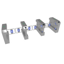 Access Control Semi Automatic Gateturnstile Flap Barrierswing Gate Automatic