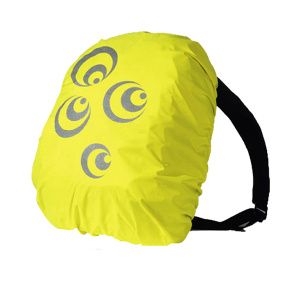 Reflecting high visibility bag cover with tapes