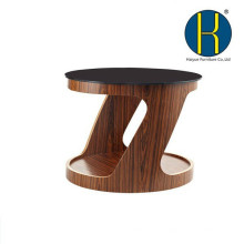 Современный дизайн деревянный обеденный стол из фанеры журнальный столик, деревянный стол для дома и офиса
