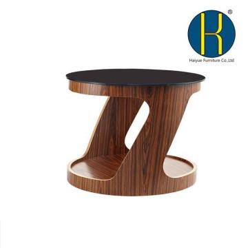 Mesa de comedor de madera del diseño moderno, mesa de centro de la madera contrachapada, tabla de madera para el hogar y la oficina