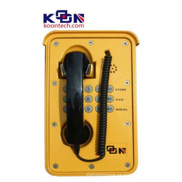 Teléfono especial de 2015 Teléfono Cambiador de voz Dial automático Teléfono impermeable