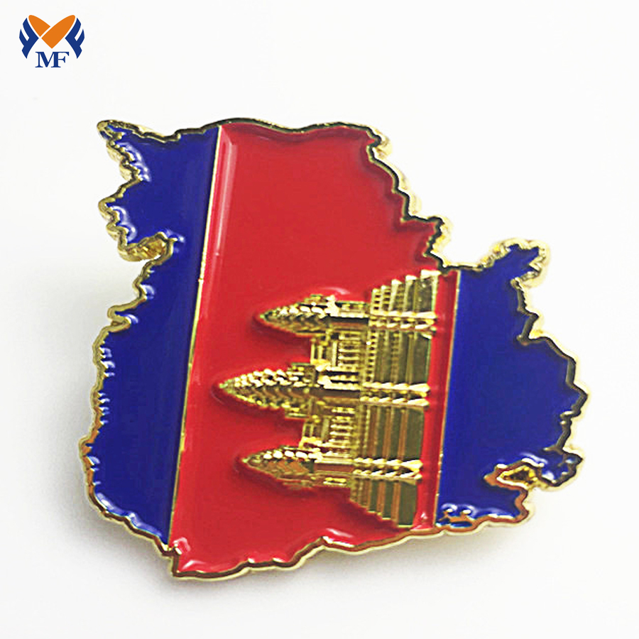Suit Pin Badge