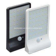 36 LED Ultra delgado impermeable Sensor Wall Street luz para jardín al aire libre lámpara