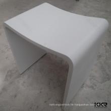 U-Form-Acrylharz-Steinbadezimmerhocker