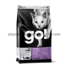 Laminated Dimensional Plastic Packaging Pet Food Bag