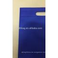 2017 hohe Qualität Kundenspezifische Wiederverwendbare Non Woven Gestanzte Tasche Auf Lager