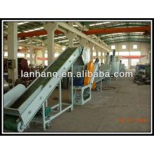 PP / PE filme esmagamento & lavagem & linha de granulação (linha de reciclagem PP / PE)