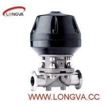 3A Apporved Sanitary Ss316L Various Triclamp Diaphragm Valve