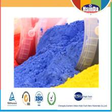 Pintura química en polvo