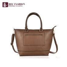 HEC alta qualidade PU bolsa de couro bolsa de ombro para mulheres