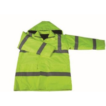 High Visibility Winter Reflective Jacket Coat Water Proof Parka