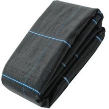 Geotêxteis de malha preta composta pesada