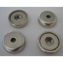 Topf-Magnete mit zylindrischer Bohrung (POT-B)