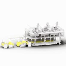 Máquina de producción de no tejidos conocida