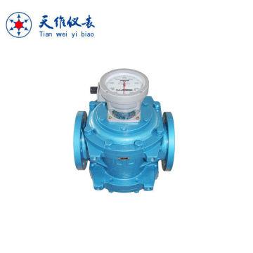 Tampilan Mechnical Fuel Oil Roots PD Flow Meter