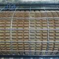 Malla de alambre reforzada de 4x4 con pared de ladrillo