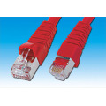 Yellow Color Cat6 FTP Patch Cord With FLUKE Test