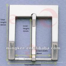 Cinto de couro / fivela de saco (m20-319a)
