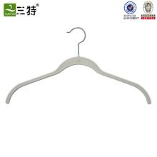 antislip flocked underwear hanger Ivory
