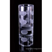 Vase à fleurs en cristal pour cadeau (JD-HP-038)