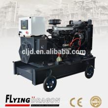 Дизель-генератор с турбонаддувом и промежуточным охлаждением резонируемым поставщиком генераторов на 40 кВт для генераторов Янвдо 50кв.